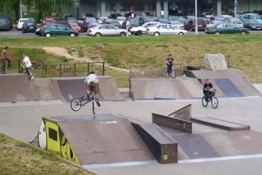 Vilniaus riedlentininkų ir riedutininkų sveikata pavojuje
