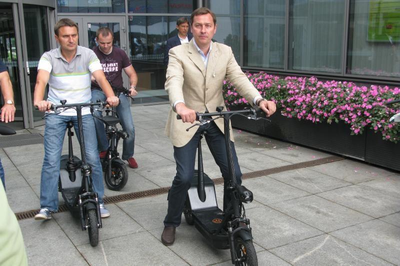 Savivaldybė perka elektrinius dviračius