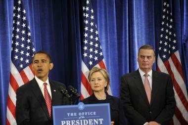 H.Clinton taps valstybės sekretore