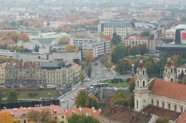 Vilnius - tarp ekonominio augimo atsilikėlių