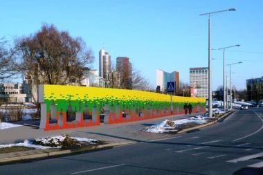Vilniuje nusidrieks plytų siena Baltijos keliui įamžinti