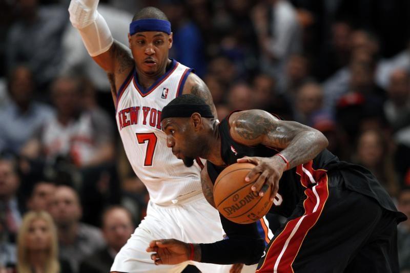 """""""Knicks"""" ir """"Mavericks"""" - ant bedugnės krašto"""