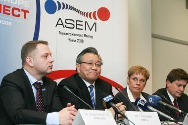 Lietuva nori tapti tiltu tarp Azijos ir Europos