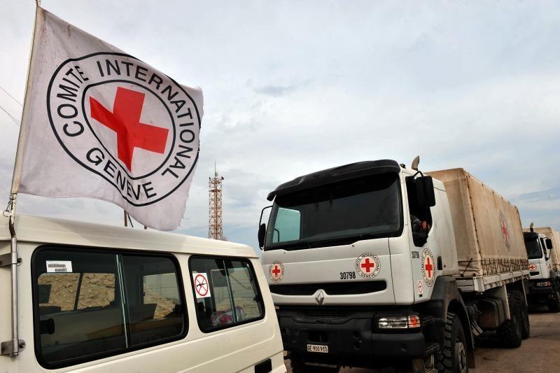 Raudonojo Kryžiaus atstovai atvyko į Baba Amrą