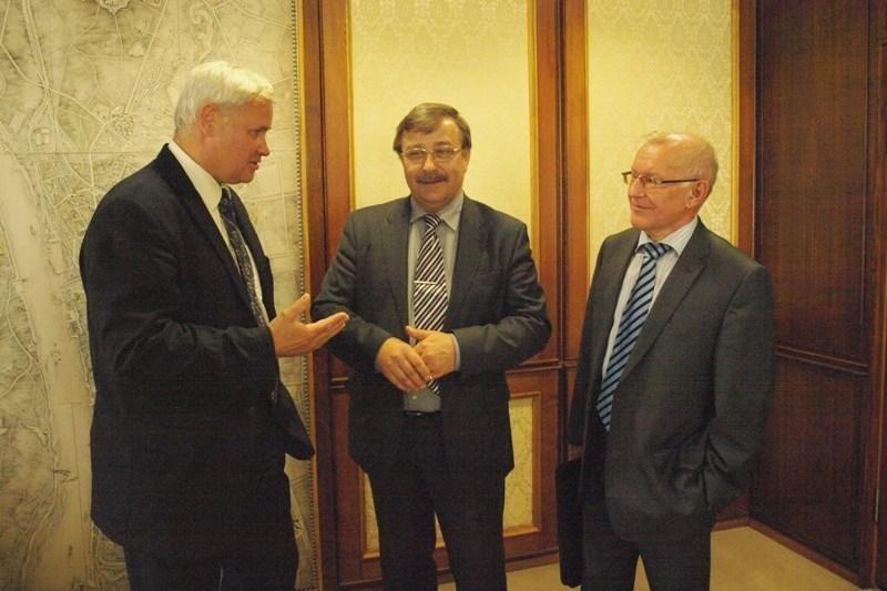 Aptartos lietuvių ir latvių bendradarbiavimo galimybės