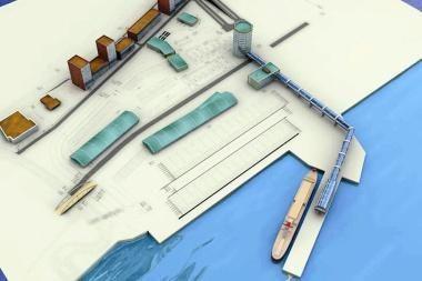 Mažiausią Keleivių terminalo statybų kainą pasiūlė