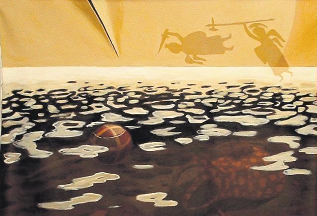 Uostamiesčio Baroti galerijoje – trijų Vilniaus tapytojų monologai