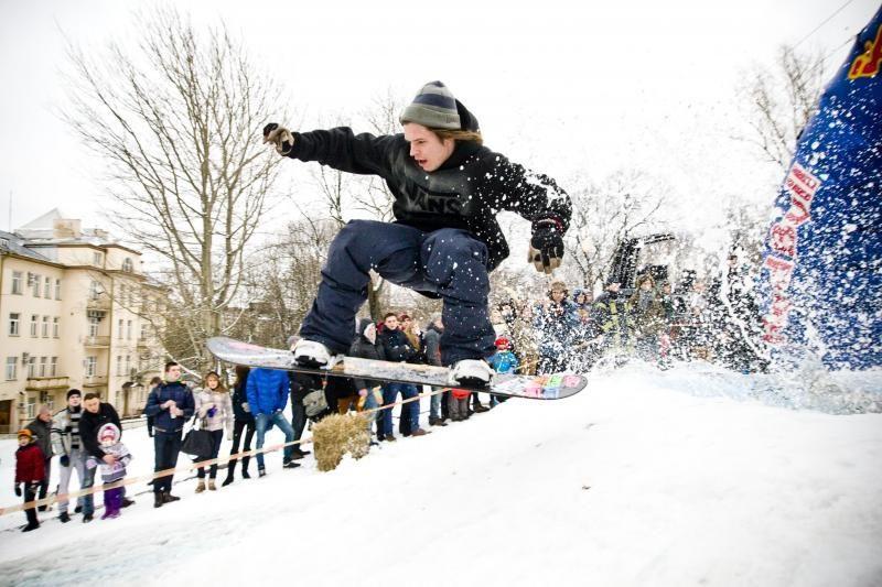 Ignalinoje savaitgalį karaliaus žiemos sporto šventė