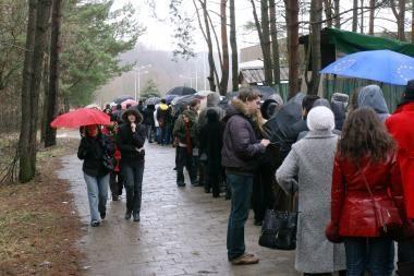 Vakarų Lietuvoje - lietus