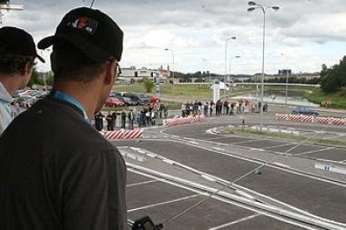 Savaitgalį - automodelių lenktynės