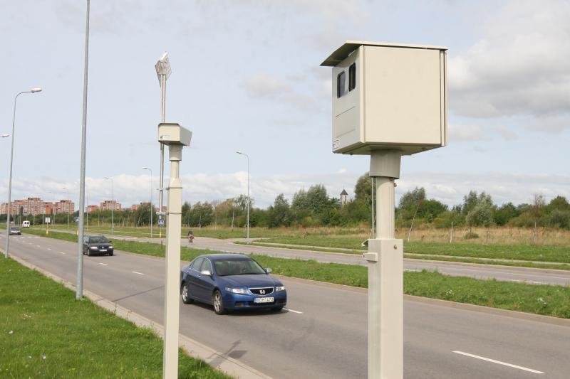 Vilniuje vėl veikia greičio matuokliai