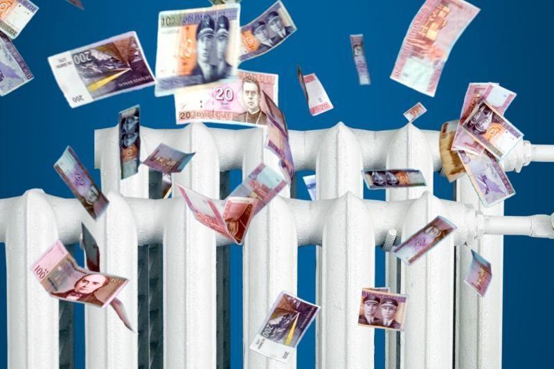 Už šildymą mokėti pastovų mokestį renkasi nedaugelis