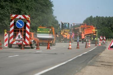 Ministerija pajūrio kurortų keliams skyrė beveik 3 mln. litų