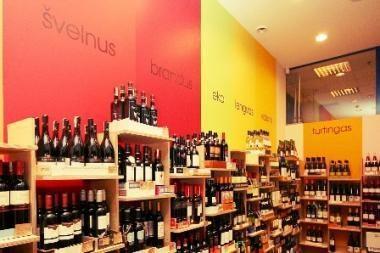 """Vilniuje – """"kitokia"""" vyno krautuvė """"Wine 9"""""""