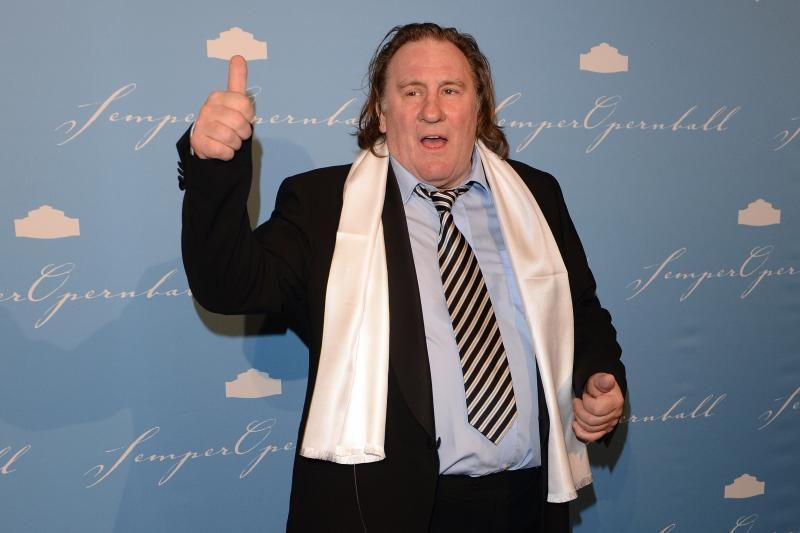 Skandalingasis Prancūzijos aktorius G. Depardieu grįžta į Paryžių kurti filmo apie FIFA istoriją