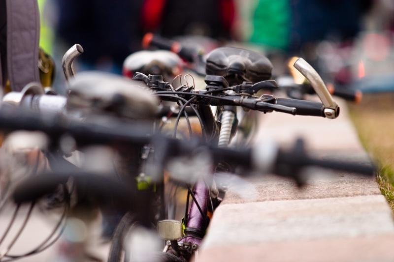 Sezonas atidarytas: Kretingoje pavogtas dviratis