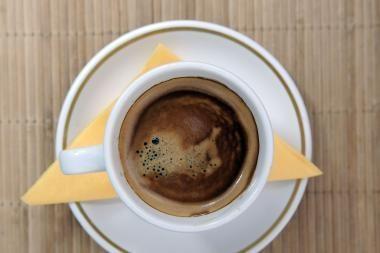 Kavos šįmet Lietuvoje suvartota dešimtadaliu mažiau