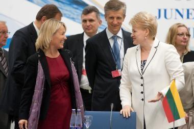 D.Grybauskaitės darbo vizitų užsienyje pagrindinė kryptis - Briuselis