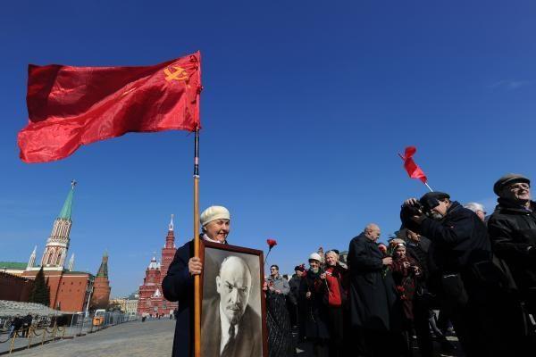 Rusijos komunistų partijos lyderis – prieš Lenino perlaidojimą