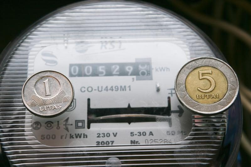 Iš naujo įvertinus turtą, gali kilti elektros tarifai