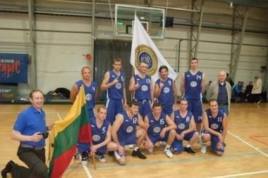 Klaipėdos uosto krepšininkai - čempionai