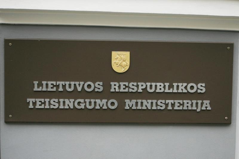 Teisingumo ministerija iki kovo laukia partijų narių sąrašų