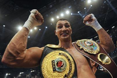 V. Kličko tapo pasaulio bokso čempionu