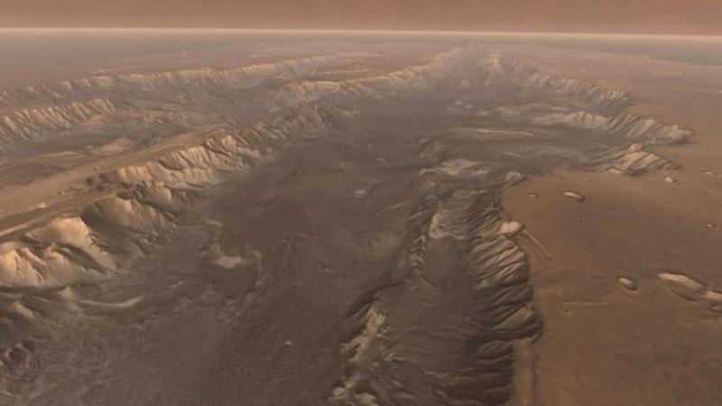 Potvynių Marse būta ne prieš 2,5 mlrd. o tik prieš 500 mln. metų