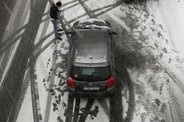 Lietuvoje eismo sąlygos neblogos