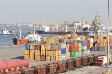 Klaipėdos uostas Baltijos šalyse - lyderis pagal konteinerių krovą
