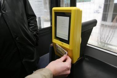 Elektroninis bilietas: pašalintos sistemos klaidos
