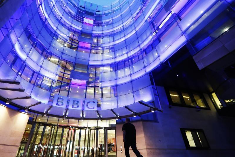 BBC žurnalistai paskelbė parą truksiantį streiką