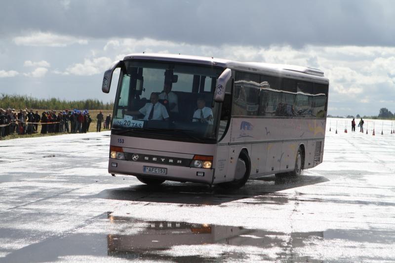 Kėdainiuose varžysis sunkiojo transporto vairuotojai