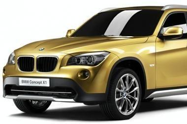 Kompaktiškas BMW X1 visureigis