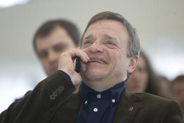 R.Vilkaitis nori vadovauti Valdovų rūmų atstatymui