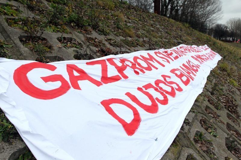 """Bendrovė """"Gazprom"""" nedarys nuolaidų nepasitarusi su federaline valdžia"""