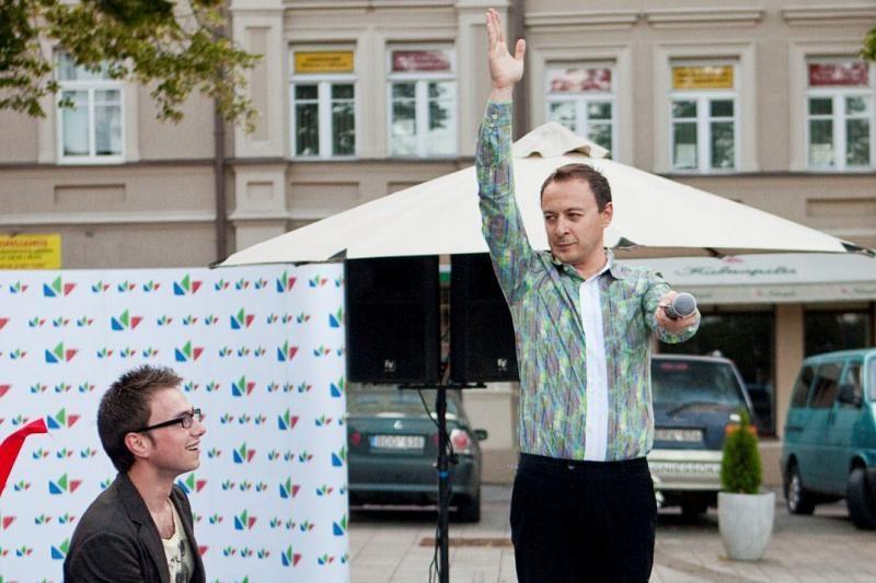 """A. Mickevičiui partnerę """"Žvaigždžių duetuose"""" palaimino mama"""