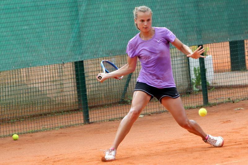L.Stančiūtė WTA reitinge pakilo per du laiptelius