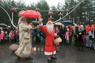 Vilniuje vieši Kalėdų Senelis