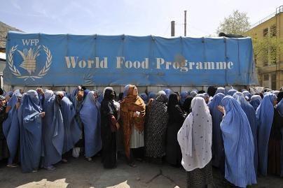 Talibai sunaikino 126 tonas JT maisto