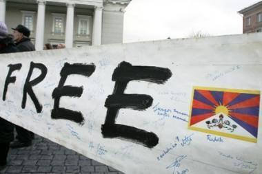 Vilniaus tarybos kolegija palaimino Tibeto skverą