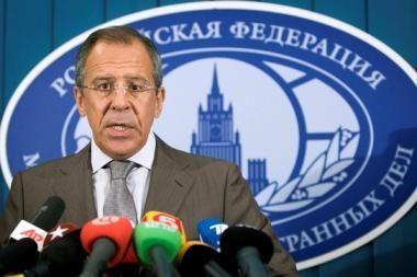 S.Lavrovas: pagalba M.Saakašvilio režimui būtų klaida