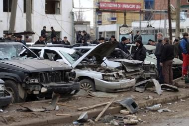 Dagestane per mirtininko išpuolį žuvo mažiausiai 6 žmonės