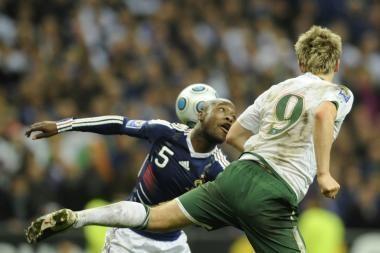 Graikija, Portugalija, Slovėnija ir Prancūzija žais pasaulio futbolo čempionate