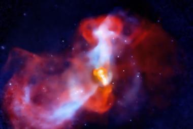 Gauta gretimoje galaktikoje