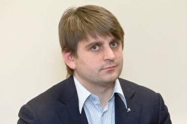 Tarybos narys V.Urbonavičius pateko į avariją