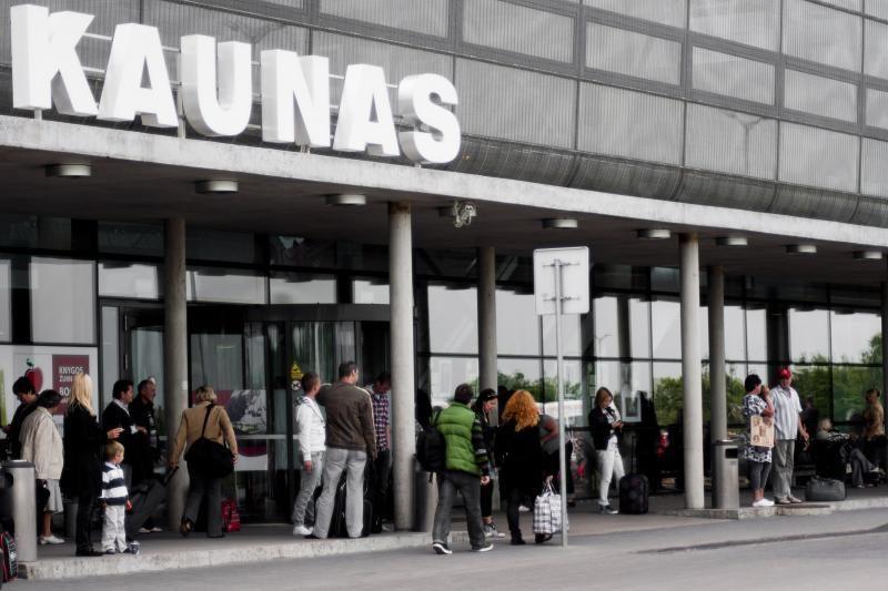 Girtas egiptietis siautėjo Kauno oro uoste