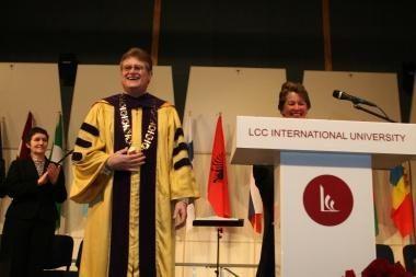 LCC tarptautiniame universitete – pasaulinio garso konferencija