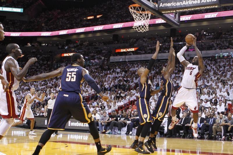 """""""Heat"""" pergale pradėjo Rytų konferencijos pusfinalį"""