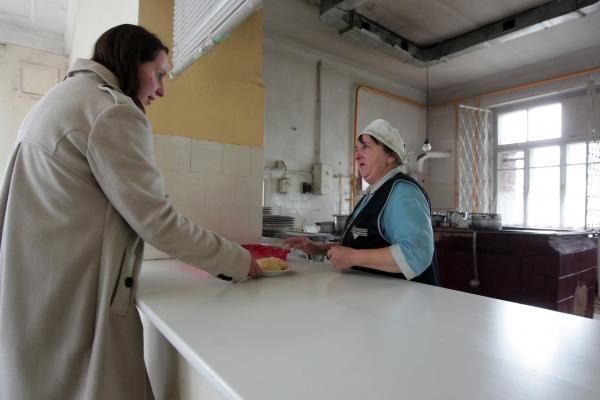 Klaipėdos labdaros valgykloje ilgėja eilės